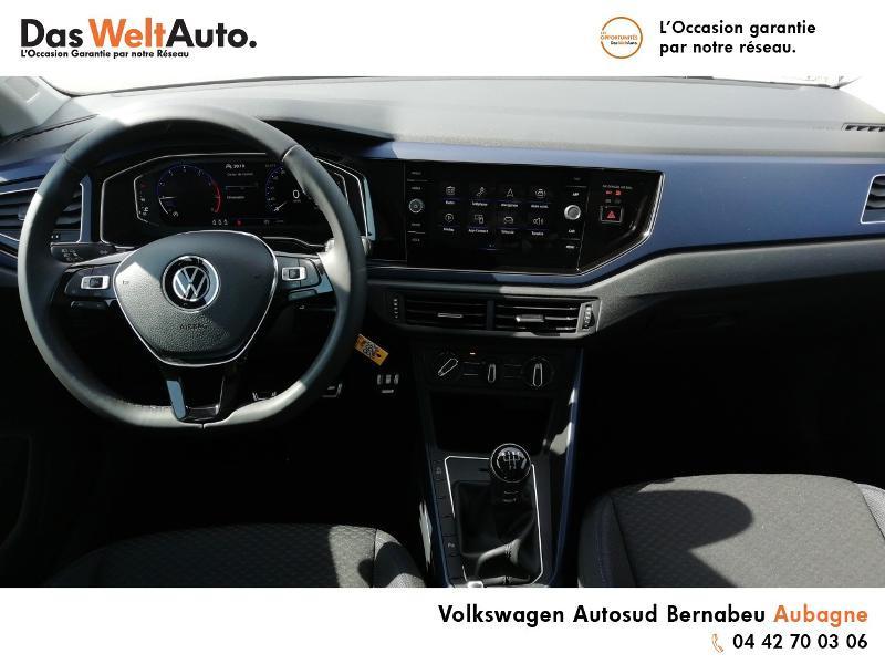 Volkswagen Polo 1.0 TSI 95ch United Euro6d-T Blanc occasion à Aubagne - photo n°6