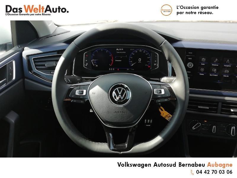 Volkswagen Polo 1.0 TSI 95ch United Euro6d-T Blanc occasion à Aubagne - photo n°7