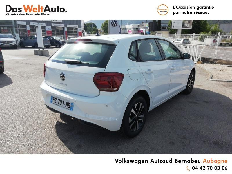 Volkswagen Polo 1.0 TSI 95ch United Euro6d-T Blanc occasion à Aubagne - photo n°4