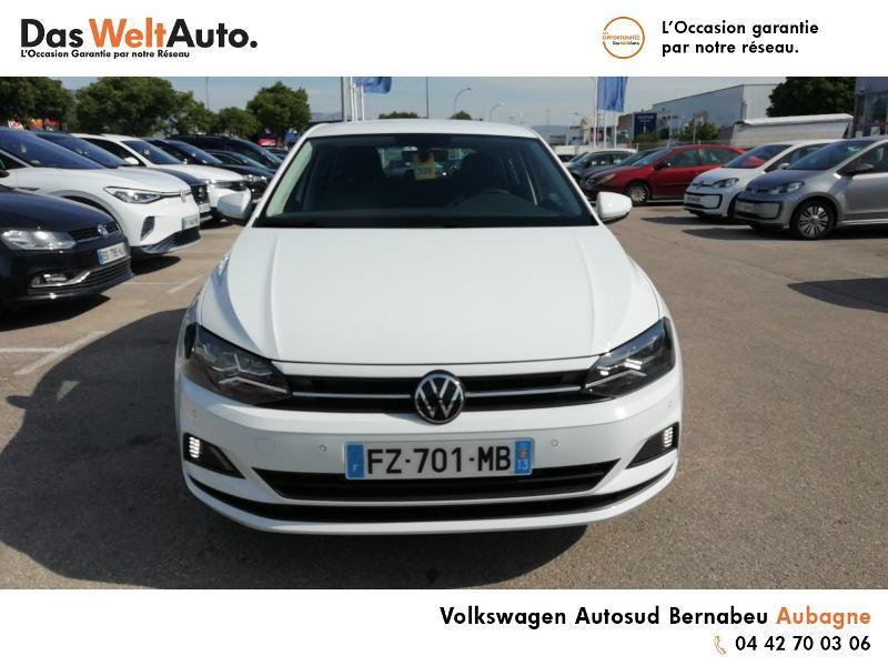 Volkswagen Polo 1.0 TSI 95ch United Euro6d-T Blanc occasion à Aubagne - photo n°5