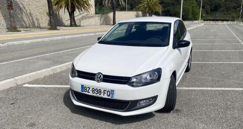 Volkswagen Polo 1.2 60CH STYLE 3P Blanc occasion à Sainte-Maxime