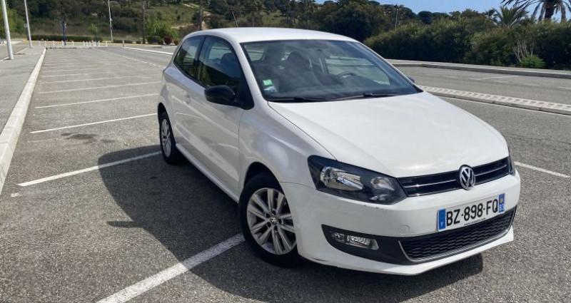 Volkswagen Polo 1.2 60CH STYLE 3P Blanc occasion à Sainte-Maxime - photo n°3
