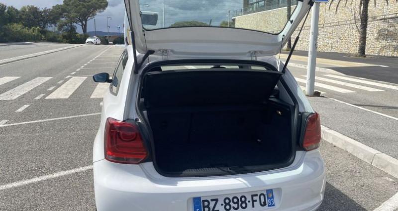 Volkswagen Polo 1.2 60CH STYLE 3P Blanc occasion à Sainte-Maxime - photo n°4