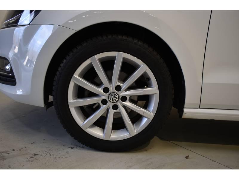 Volkswagen Polo 1.2 TSI 90 BMT Série Spéciale Allstar Blanc occasion à Limoges - photo n°3