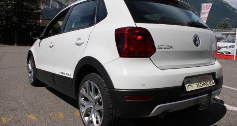 Volkswagen Polo 1.4 TDI 90 Cross Blanc occasion à BONNEVILLE - photo n°3