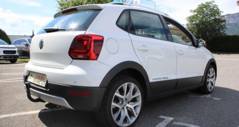 Volkswagen Polo 1.4 TDI 90 Cross Blanc occasion à BONNEVILLE - photo n°4