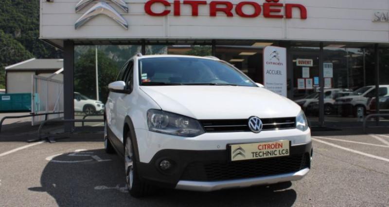 Volkswagen Polo 1.4 TDI 90 Cross Blanc occasion à BONNEVILLE