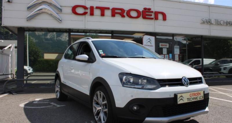 Volkswagen Polo 1.4 TDI 90 Cross Blanc occasion à BONNEVILLE - photo n°2