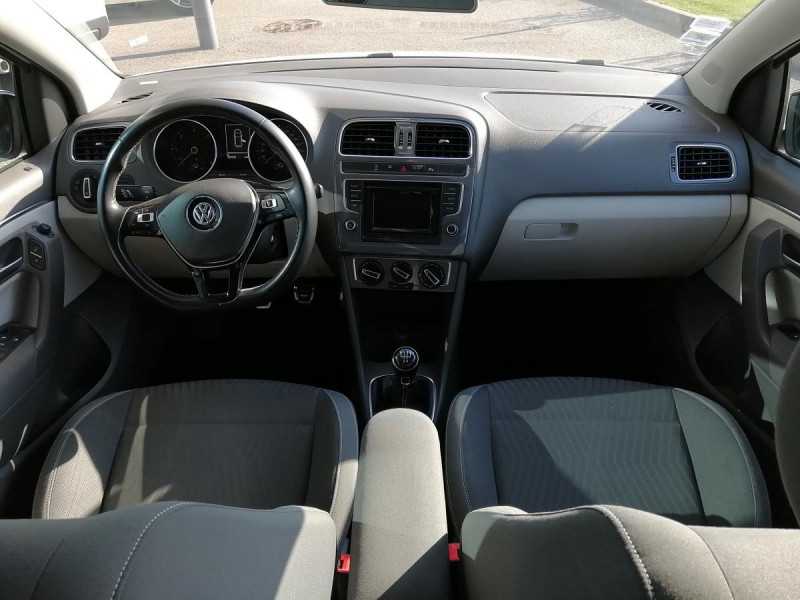 Volkswagen Polo 1.4 TDI 90 CUP 5P Blanc occasion à Ganges - photo n°6