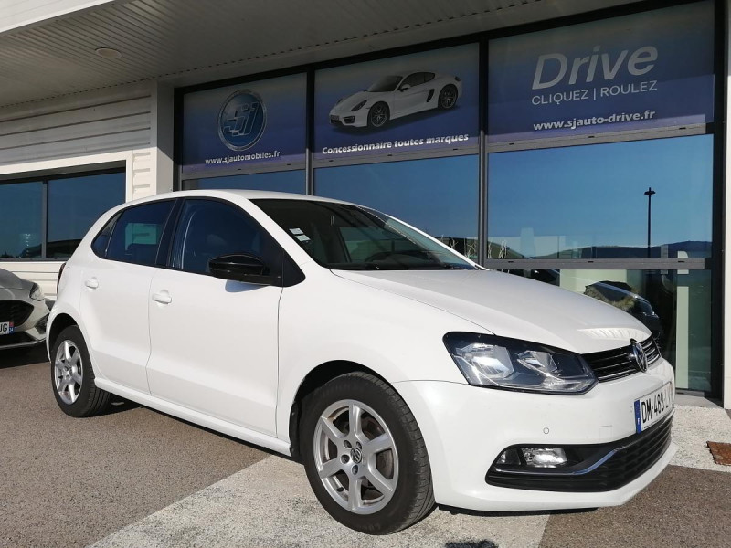 Volkswagen Polo 1.4 TDI 90 CUP 5P Blanc occasion à Ganges