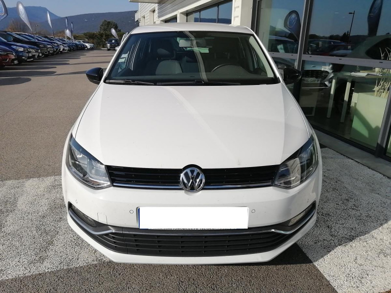 Volkswagen Polo 1.4 TDI 90 CUP 5P Blanc occasion à Ganges - photo n°5