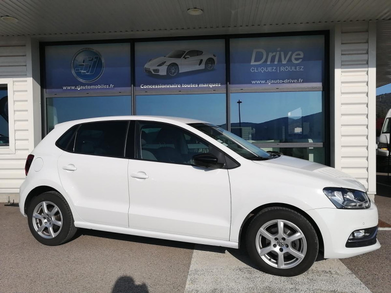 Volkswagen Polo 1.4 TDI 90 CUP 5P Blanc occasion à Ganges - photo n°2