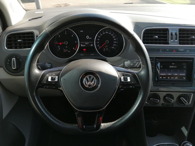 Volkswagen Polo 1.4 TDI 90 CUP 5P Blanc occasion à Ganges - photo n°11