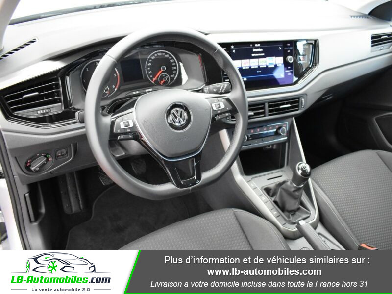 Volkswagen Polo 1.6 TDI 80 Argent occasion à Beaupuy - photo n°2