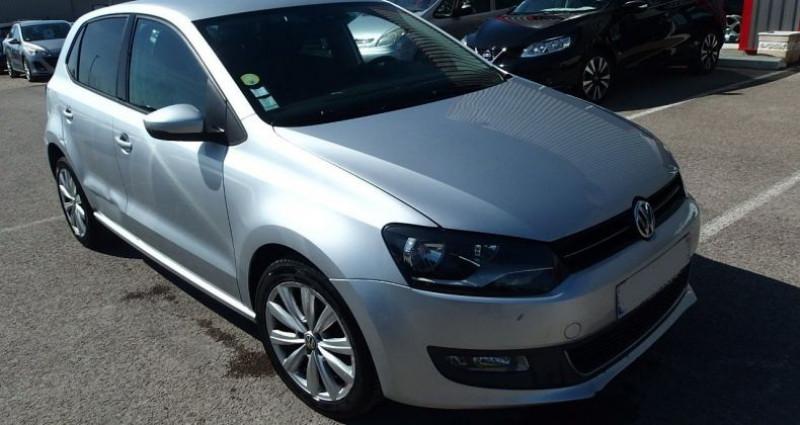 Volkswagen Polo 1.6 TDI 90CH BLUEMOTION TECHNOLOGY FAP CONFORTLINE 5P Gris occasion à FONTAINE LES GRES