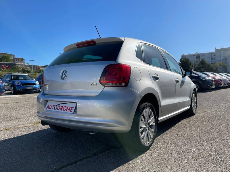 Volkswagen Polo 1.6 TDI 90ch FAP Life 5p - 96 000 Kms Gris occasion à Marseille 10 - photo n°6