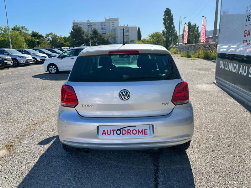 Volkswagen Polo 1.6 TDI 90ch FAP Life 5p - 96 000 Kms Gris occasion à Marseille 10 - photo n°7