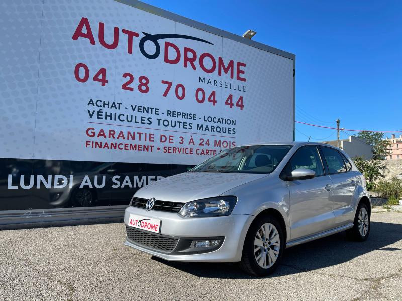 Volkswagen Polo 1.6 TDI 90ch FAP Life 5p - 96 000 Kms Gris occasion à Marseille 10