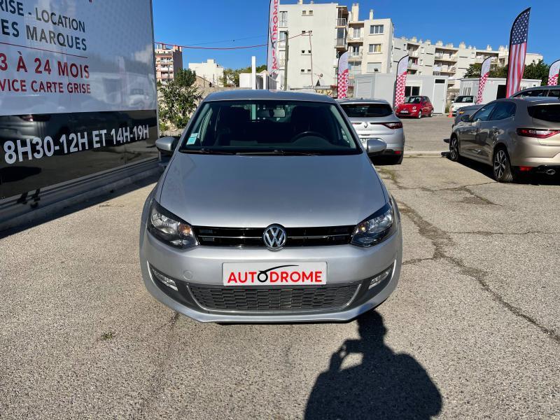 Volkswagen Polo 1.6 TDI 90ch FAP Life 5p - 96 000 Kms Gris occasion à Marseille 10 - photo n°2