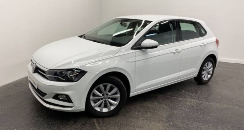 Volkswagen Polo 1.6 TDI 95 S&S BVM5 HIGHLINE Blanc occasion à AHUY