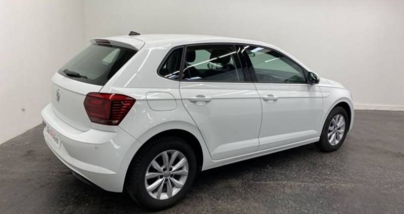 Volkswagen Polo 1.6 TDI 95 S&S BVM5 HIGHLINE Blanc occasion à AHUY - photo n°3