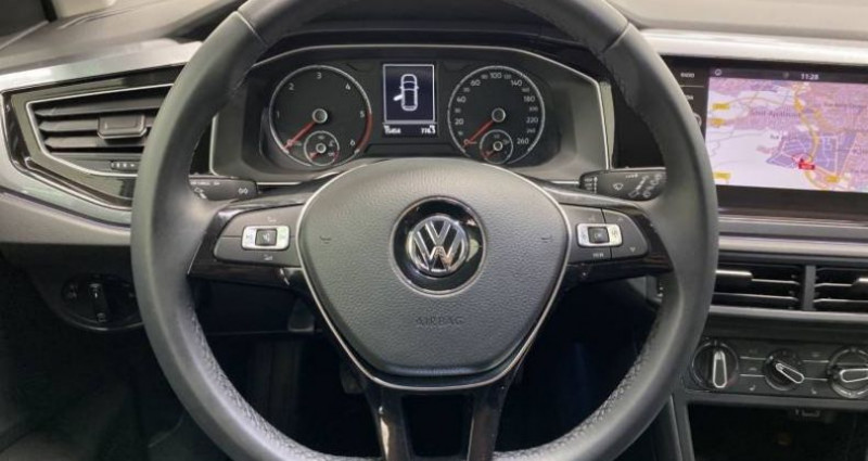 Volkswagen Polo 1.6 TDI 95 S&S BVM5 HIGHLINE Blanc occasion à AHUY - photo n°5