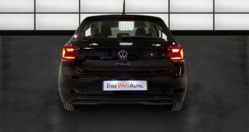 Volkswagen Polo 1.6 TDI 95ch Lounge Business Euro6d-T Noir occasion à La Rochelle - photo n°4