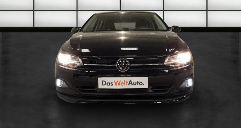 Volkswagen Polo 1.6 TDI 95ch Lounge Business Euro6d-T Noir occasion à La Rochelle - photo n°2
