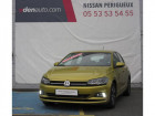 Volkswagen Polo BUSINESS 1.0 TSI 95 S&S DSG7 Confortline Jaune à Périgueux 24