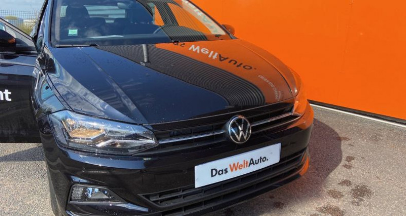 Volkswagen Polo BUSINESS 1.0 TSI 95 S&S DSG7 Lounge Business Noir occasion à Bourgogne - photo n°2