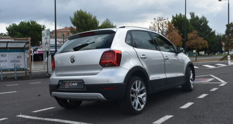 Volkswagen Polo CROSSOVER 1.2 TSI 90 CH GARANTIE Gris occasion à ANTIBES - photo n°5