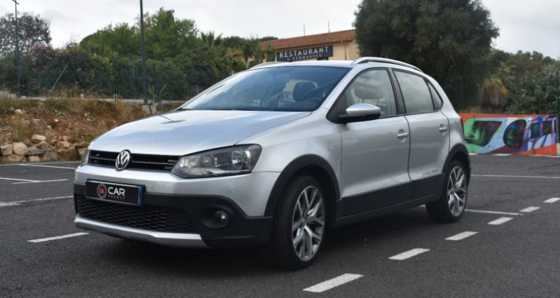 Volkswagen Polo CROSSOVER 1.2 TSI 90 CH GARANTIE Gris occasion à ANTIBES