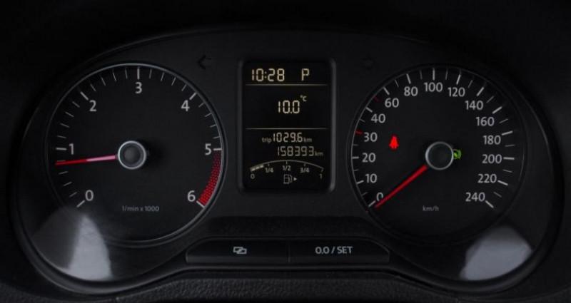 Volkswagen Polo V 1.6 TDI 90 CR FAP TRENDLINE DSG7 5P Noir occasion à Chambourcy - photo n°7