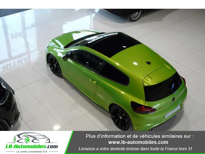 Volkswagen Scirocco II R 2.0 TSI 265 DSG6 Vert occasion à Beaupuy - photo n°15