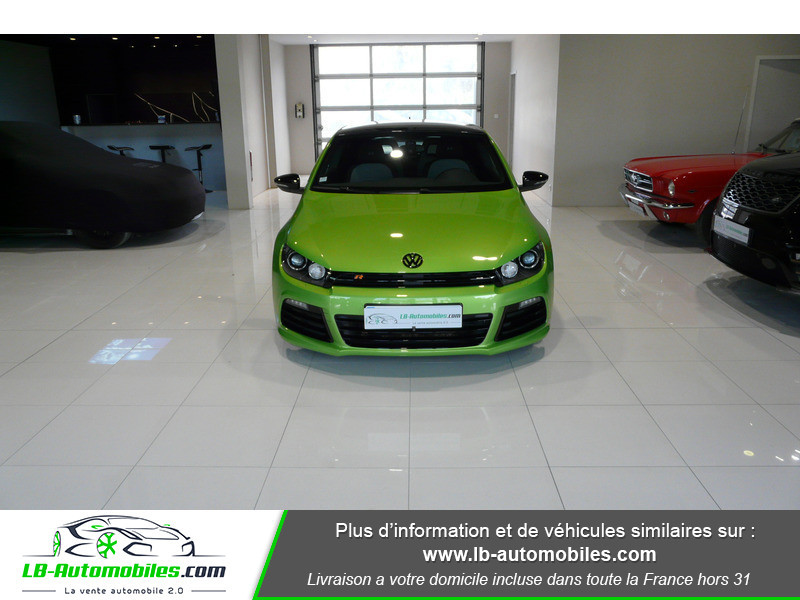 Volkswagen Scirocco II R 2.0 TSI 265 DSG6 Vert occasion à Beaupuy - photo n°11
