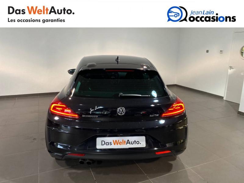 Volkswagen Scirocco Scirocco 2.0 TSI 180 DSG6 Série Limitée Ultimate 3p Noir occasion à Seynod - photo n°6