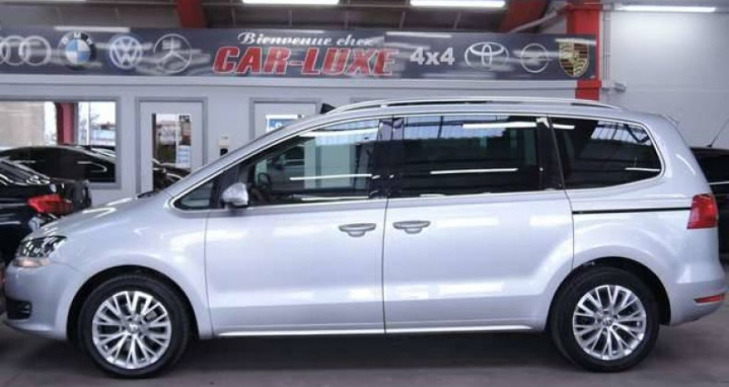 Volkswagen Sharan 2.OTDI 17OCV 7 PLACES DSG PANORAMIQUE CUIR GPS Gris occasion à Sombreffe - photo n°5
