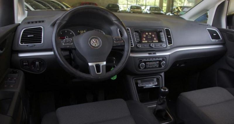Volkswagen Sharan II 2.0 TDI 140 FAP BLUEMOTION TECHNOLOGY BUSINESS CONFORTLIN Noir occasion à Chambourcy - photo n°2