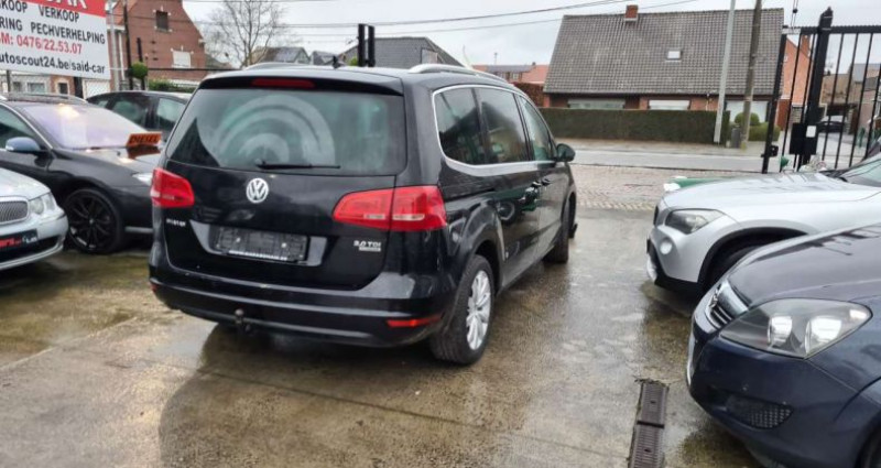 Volkswagen Sharan XÉNON Toit Panorm cuir Euro 5b Noir occasion à Waregem - photo n°4