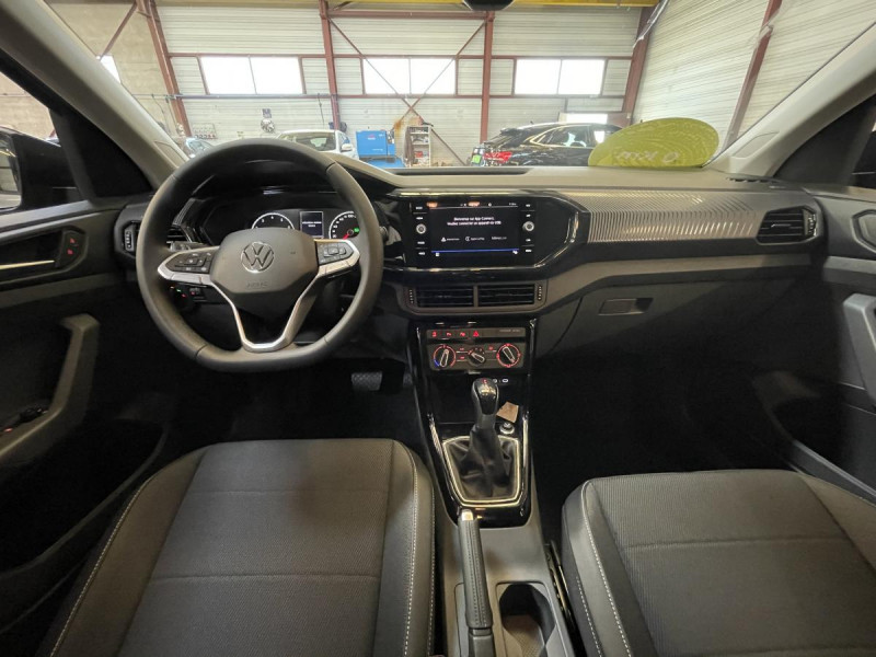 Volkswagen T-cross 1.0 TSI  110 CH DSG 7  Lounge + OPTIONS Gris occasion à Labège - photo n°4