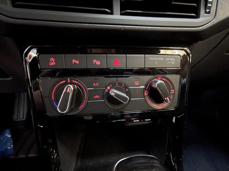 Volkswagen T-cross 1.0 TSI  110 CH DSG 7  Lounge + OPTIONS Gris occasion à Labège - photo n°11