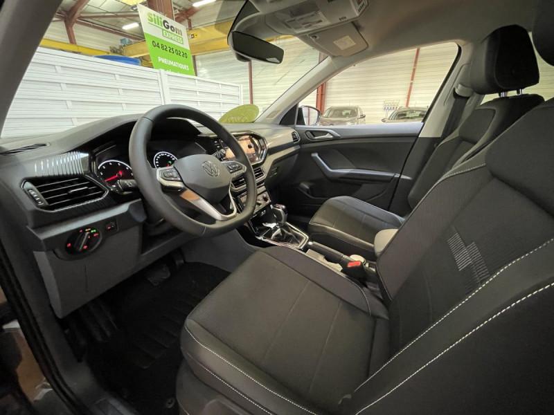 Volkswagen T-cross 1.0 TSI  110 CH DSG 7  Lounge + OPTIONS Gris occasion à Labège - photo n°10