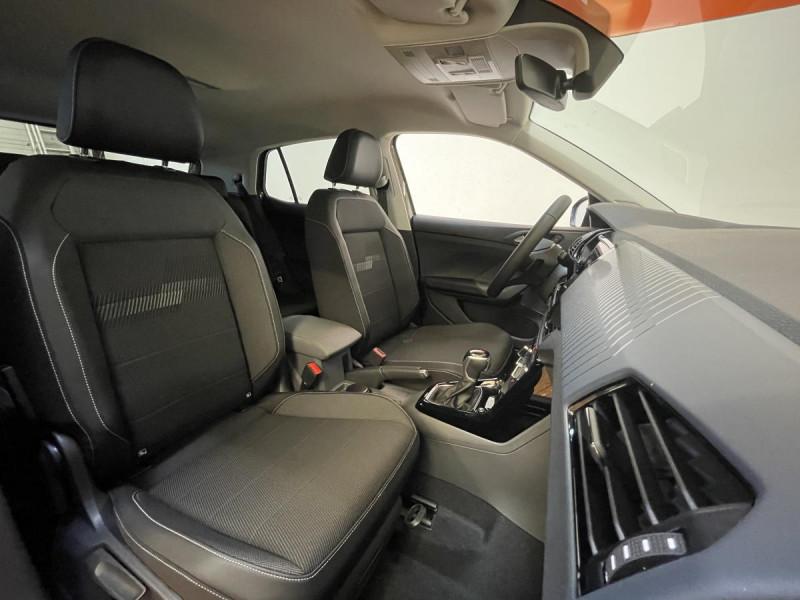 Volkswagen T-cross 1.0 TSI  110 CH DSG 7  Lounge + OPTIONS Gris occasion à Labège - photo n°5
