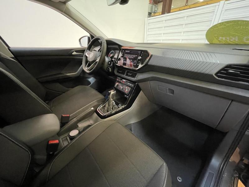 Volkswagen T-cross 1.0 TSI  110 CH DSG 7  Lounge + OPTIONS Gris occasion à Labège - photo n°9