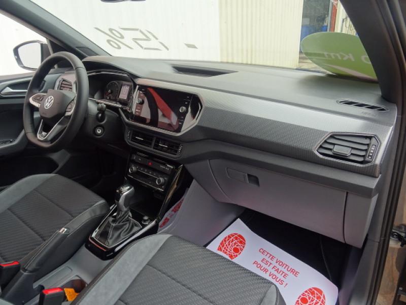 Volkswagen T-cross 1.0 TSI - 110 - Start&Stop - BV DSG 7  R-Line Gris occasion à Mérignac - photo n°10