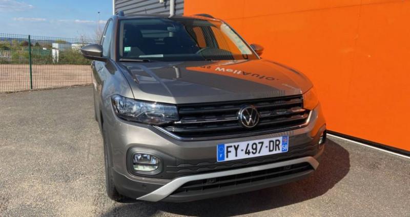 Volkswagen T-cross 1.0 TSI 110 Start/Stop BVM6 United Gris occasion à Bourgogne - photo n°2