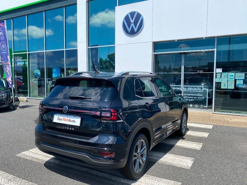 Volkswagen T-cross 1.0 TSI 110ch R-Line Noir occasion à Onet-le-Château - photo n°7