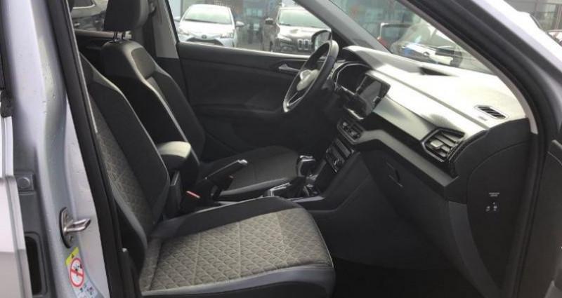 Volkswagen T-cross 1.0 TSI 115ch Carat DSG7 Argent occasion à La Rochelle - photo n°7