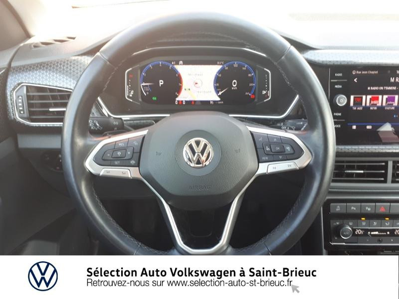 Volkswagen T-cross 1.0 TSI 115ch Carat DSG7 Bleu occasion à Saint Brieuc - photo n°7