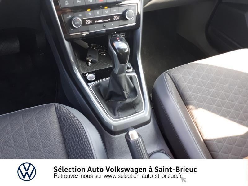 Volkswagen T-cross 1.0 TSI 115ch Carat DSG7 Bleu occasion à Saint Brieuc - photo n°10